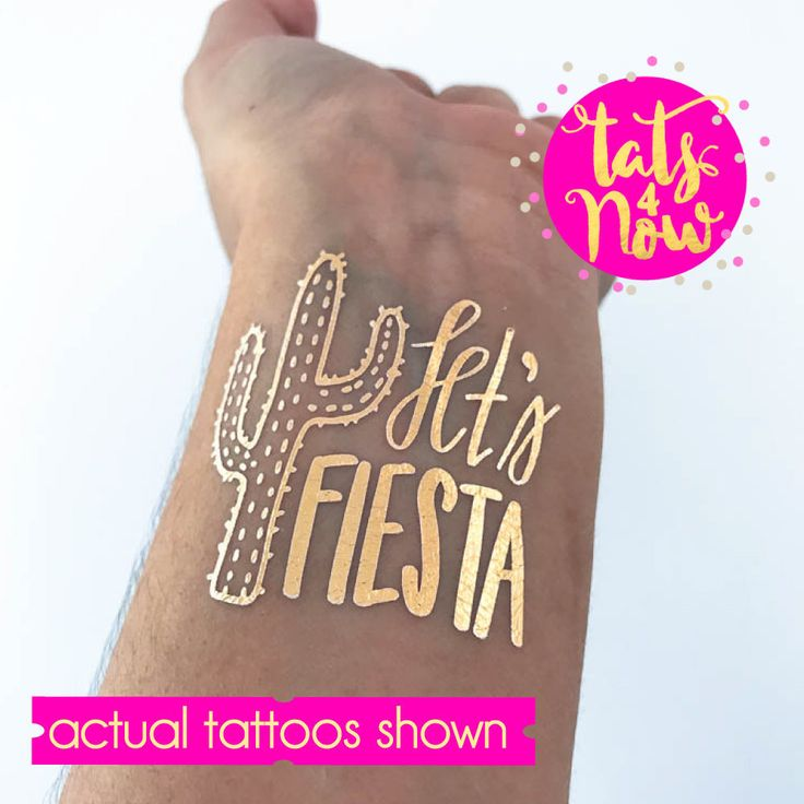 lets fiesta, fiesta cactus, final fiesta, bachelorette party tattoos, cactus themed bachelorette, mexico bachelorette weekend, by Tats4now