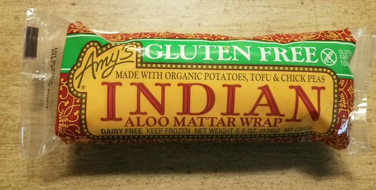 #GlutenFree #Aloo #Mattar #Wrap by #AmysKitchen is out of this world. #DairyFree #NutFree #GMOFree. Made with #organic #chickpeas #tofu #peas & #potatoes. Being #GF for 2 years now. I miss #burritos. I found my replacement! . . #GMO #nogmo #health #healthymom #healthyfood #heathy #indianfood #pea #foodie #food #glutenfreefood #glutenfreevegan #glutenfreelife #spices #goodliving #organics