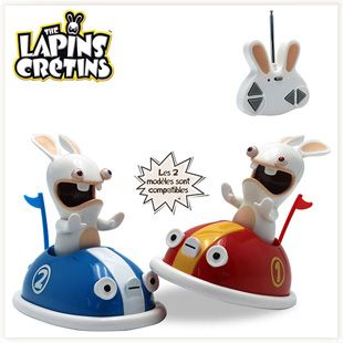 Lapins Crétins Télécommandés #lapinscretins #fun #jeu #geek