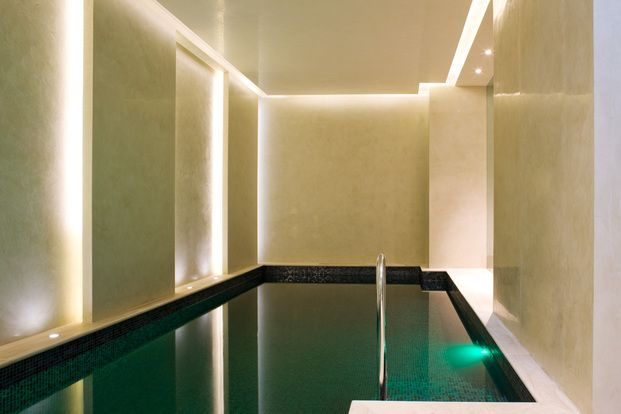 Indoor pool by Finchatton Architects _