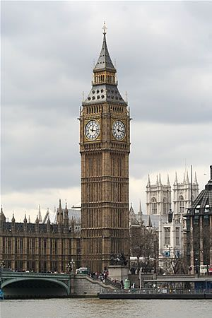Big Ben and the Houses of Parliament. London, England