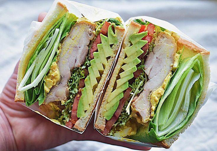 いいね!958件、コメント45件 ― Junさん(@jun.saji)のInstagramアカウント: 「#Jサンド あんま見えてへんけど…カレータルタルソースやで❤︎ チキンサンド❤︎ ・ #わんぱくサンド #もりもり野菜サンド #もりもり野菜サンド部 #サンドイッチ #クッキングラムアンバサダー…」