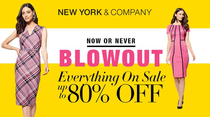 Online Only! Now Or Never Blowout! Everything On Sale Up to 80% #Off.  Store: #NewYorkCompany Scope: Entire Store Ends On : 04/08/2018  Get more deals: http://www.geoqpons.com/New-York-&-Company-coupon-codes  Get our Android mobile App: https://play.google.com/store/apps/details?id=com.mm.views  Get our iOS mobile App: https://itunes.apple.com/us/app/geoqpons-local-coupons-discounts/id397729759?mt=8