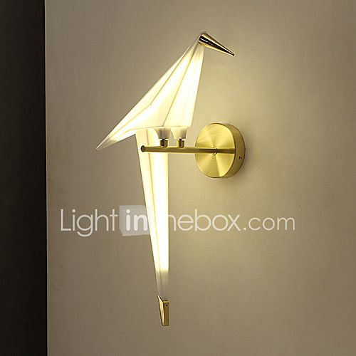 AC 110-130 AC 220-240 6 LED Integrated Modern/Contemporary Novelty Vintage Electroplated Feature for Mini Style,Ambient Light Wall Sconces 2017 - $98.24