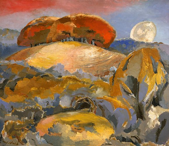 Landscape of The Moon's Last Phase (1944 ) by Paul Nash