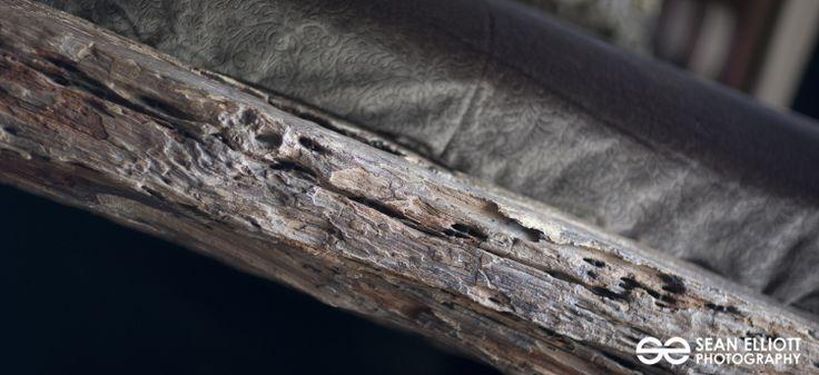Umah Raja detail, master bed wood base