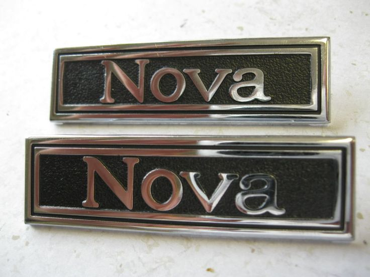 69 70 71 72 nova door panel emblems gm authorized restoration part & Nova Doors \u0026 69 70 71 72 Nova Door Panel Emblems Gm Authorized ...