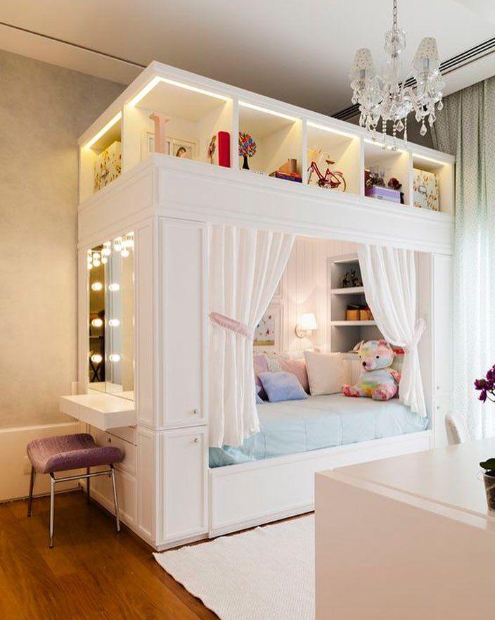 Ideia para o quarto dos pequenos. Pinterest:  http://ift.tt/1Yn40ab http://ift.tt/1oztIs0 |Imagem não autoral|