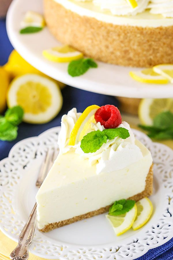 No Bake Lemon Cheesecake Recipe Easy No Bake Cheesecake Recipe Cheesecake Recipes Lemon Cheesecake Recipes Easy Cheesecake Recipes