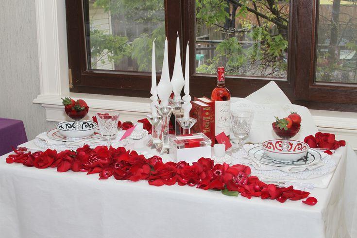 Valentine S Day Dinner Decoration Ideas