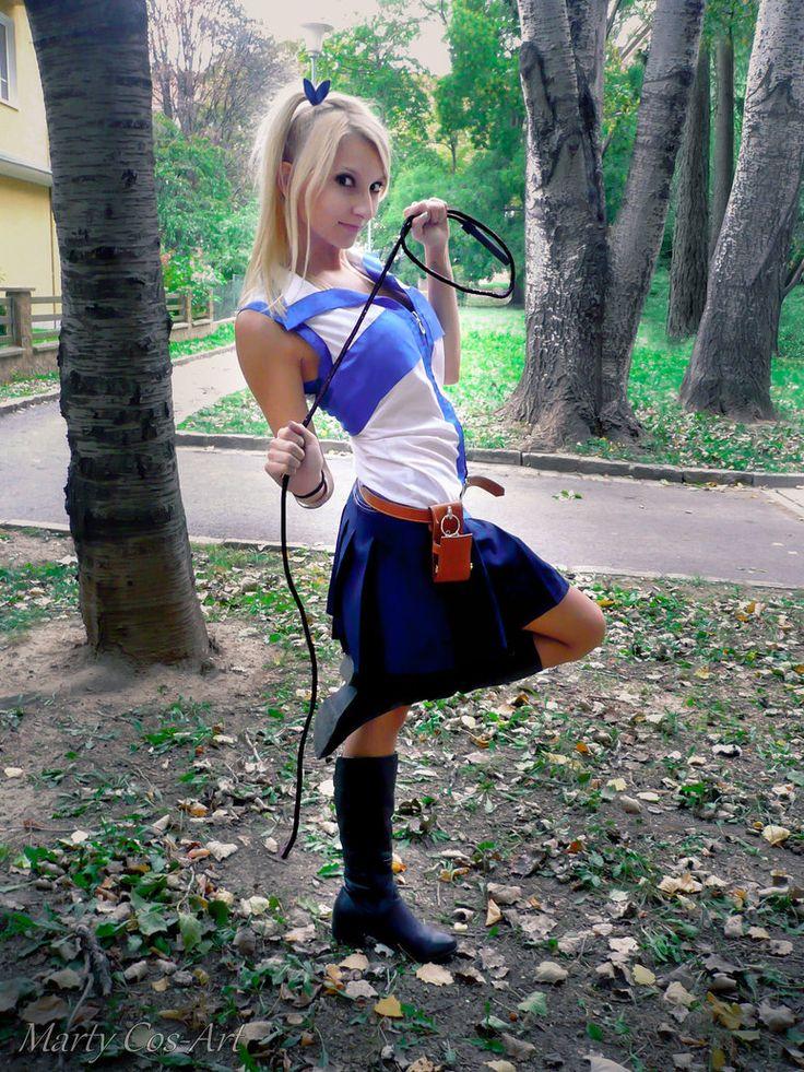 Lucy Heartfilia (Fairy Tail) Cosplay by Marty Novotna FB page: facebook.com/MartyCosArt Photo by Kristýna Blatná