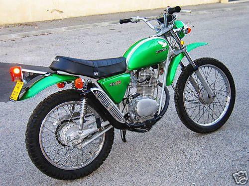 Honda 125SL On ira, ou tu voudras quand tu voudras, la la la la la la la....