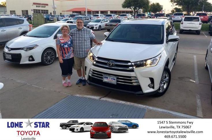 Congratulations Daniel on your #Toyota #Highlander from Kass Folkman at Lone Star Toyota of Lewisville!  https://deliverymaxx.com/DealerReviews.aspx?DealerCode=E208  #LoneStarToyotaofLewisville