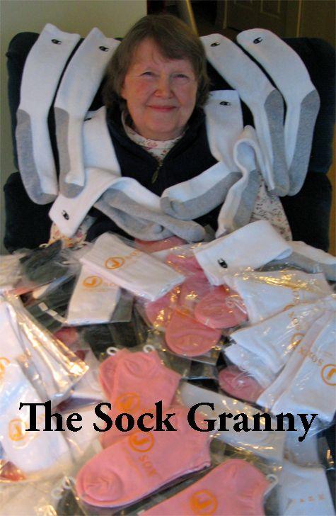 14. The Sock Granny Strikes Again – Be Kind  #sockgranny