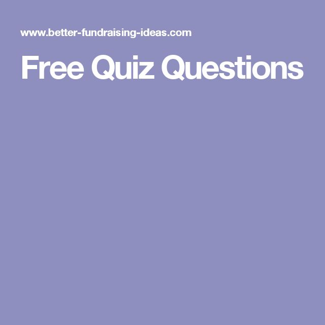 Best 25+ Free quiz questions ideas on Pinterest Free trivia - free quiz template