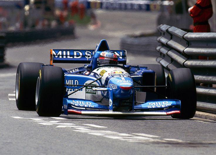 Michael Schumache su Benetton  B195 1995
