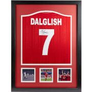 #All Star Signings Kenny Dalglish Signed and Framed Liverpool Shirt #Kenny Dalglish™s years at Liverpool marked one of the club™s most prolifically successful periods winning: seven league titles, five domestic cups and three European Cups. Known as œKing Kenny by Liverpool fans, his legendary career included being player-manager at Liverpool in 1985 and in his six-year tenure he won three league titles and two F.A. Cups. This is an official replica 1986 Liverpool shirt signed by Liverpool…