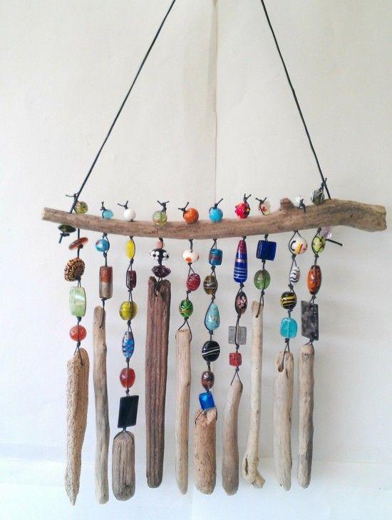 Windspiel basteln – 59 DIY Ideen mit einfachen Materialien