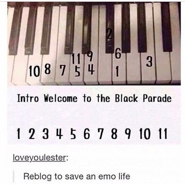 Thank you, this gives meaning to my life ^-^ I'm going to immediately break out my keyboard/piano and play this like a boss! xD