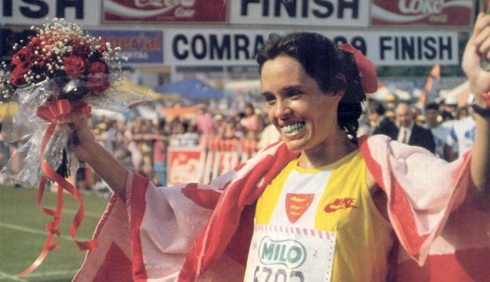 One of South Africa's greatest-ever Comrades Marathon runners, Frith van der Merwe