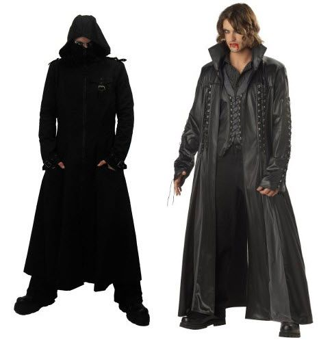 Gothic Victorian Clothing for Men | Long Gothic Coats for Men « foregather.net