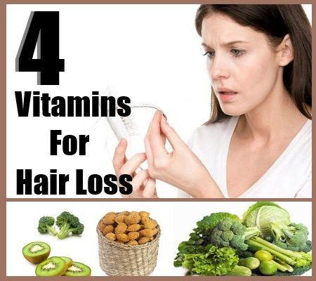 vitamins needed for hair loss