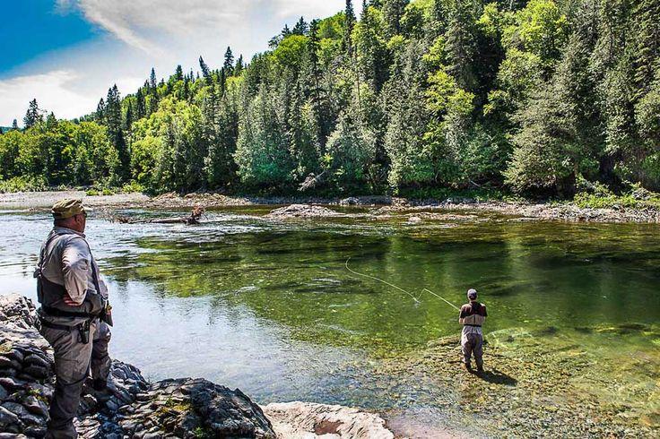 Down Periscope! Salmon fishing on the Bonaventure, Petite and Grand Cascapedia rivers