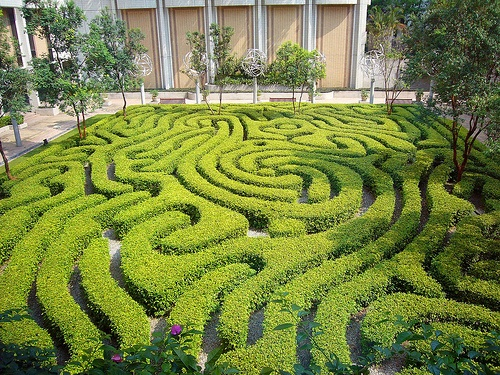 technically this is a maze, not a labyrinth... Kuala Lampur
