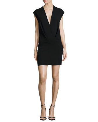 L agence black dress bell