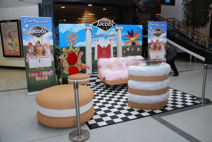 Jacobs Biscuits Road Show Props Marketing  www.vinehall.ie
