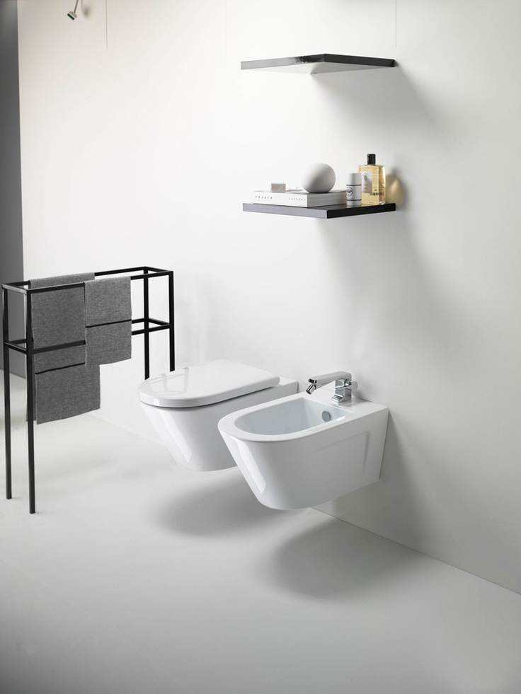 GSI ceramic | Norm, Wall-hung Wc & Bidet which is not as popular in U.S. as in Europe