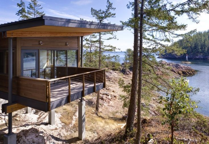 Tree Houses Cabin on Cortes Island by Balance Associates Architects