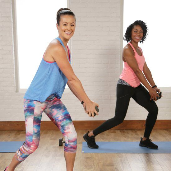 20-Minute Cardio and Sculpting Workout   Video