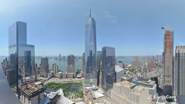 Official 11 Year Time-lapse Movie of One World Trade Center .... this is amazing. I can't get it to post to Pinterest, but the full documentary of the tower is at https://www.youtube.com/watch?v=-9FnJCMtOYs  it's by NOVA.