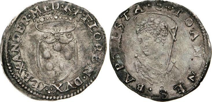 NumisBids: Numismatica Varesi s.a.s. Auction 65, Lot 317 : FIRENZE - ALESSANDRO DE' MEDICI (1532-1537) Mezzo Giulio s.d. D/...