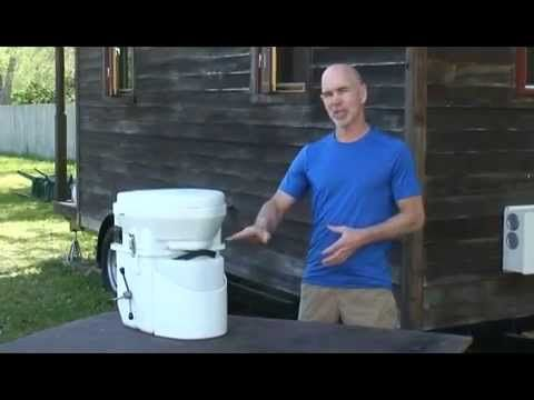 natures Head composting toilet for tiny homes - YouTube