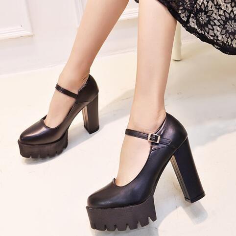 Купить товарT9016 Новый стиль женские весна лето туфли на платформе Женщины footwea 10 см толщиной высокие каблуки женские насосы свадебная вечеринка обувь в категории Туфлина AliExpress.        добро пожаловать в МагазинZZYJобувь магазин, прежде чем сделать заказ, пожалуйста, убедитесь, что ваш