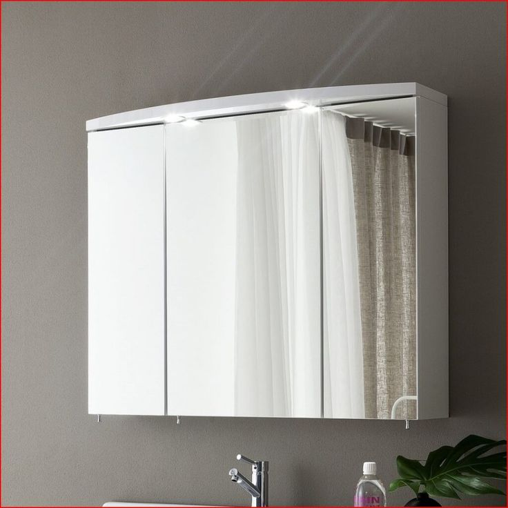 illuminated bathroom cabinets bq