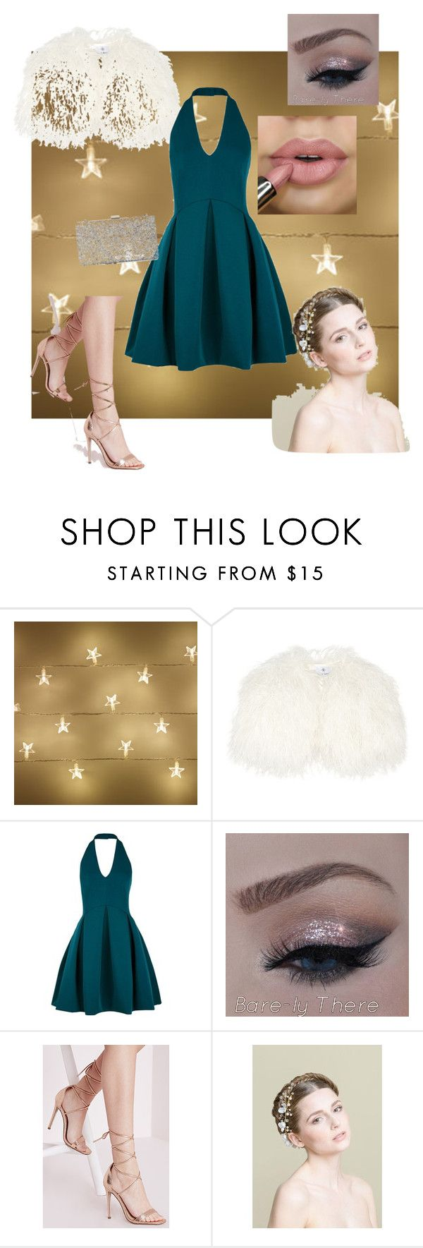"""Christmas day delivery"" by vishious-vbaker ❤ liked on Polyvore featuring Daizy Shely, Halston Heritage, Missguided, women's clothing, women, female, woman, misses and juniors"