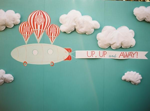 hot air balloon Photobooth background idea.Photos Booths, Balloons Photobooth, Photo Booths, Nautical Design, Photobooth Backgrounds, Backgrounds Ideas, Hot Air Balloons, Photos Backdrops, Booths Backdrops