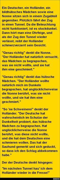 Ein Deutscher, ein Holländer, ein bildhübsches Mädchen sowie eine Nonne.. | DEBESTE.de, Lustige Bilder, Sprüche, Witze und Videos