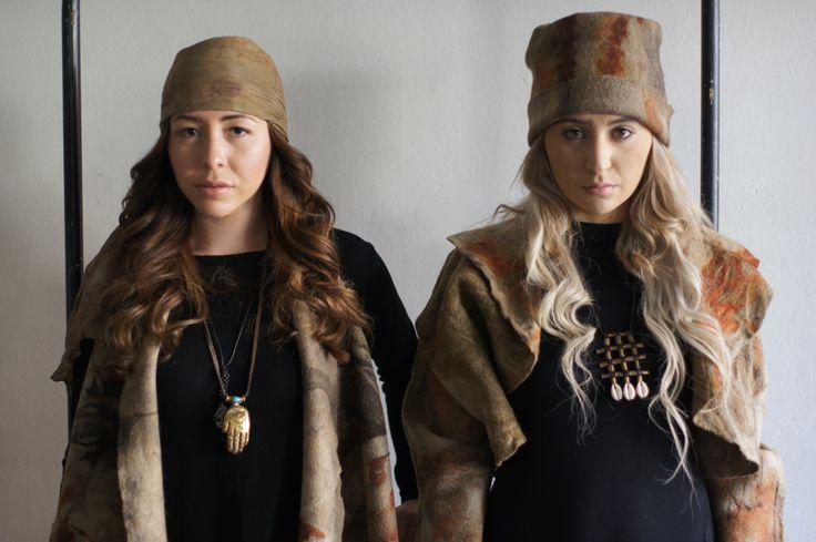 Eco Dye Hats!