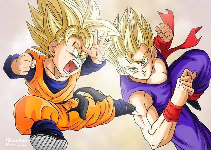 Remember This Episode Gohan Didnt Believed Goten Could Become Ssj Double Tap And Tag Your Dragon Ball Friends Follow M Dragon Ball Dragon Ball Z Dragon Kid