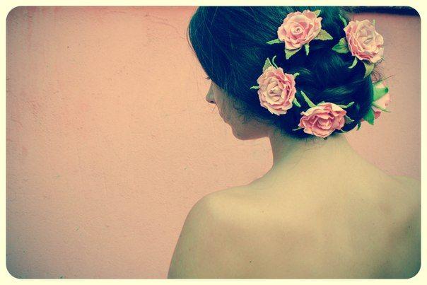 flower foam girl beauty wedding