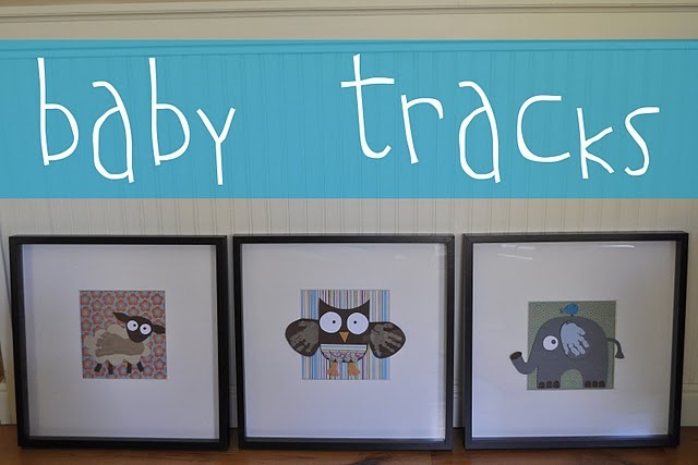 love this idea: Babies, Hands Prints, Footprint Art, Crafts Ideas, Foot Prints, Kids Crafts, Handprint Art, Baby Track, Handprint Footprint