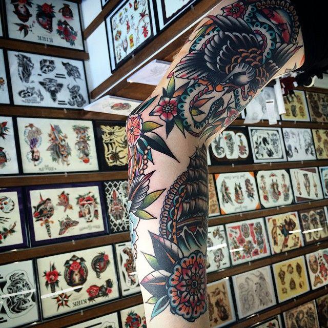 | Kirk Jones at Goodluck Tattoo in Melbourne