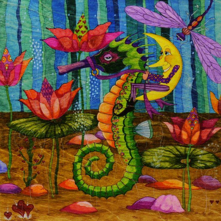 Whimsical Painted Furniture | ... Modern Folk Art, Whimsical Primitives, Painted Furniture & Woodworks