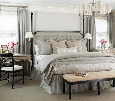.: Decor, Interior, Bedside Table, Masterbedroom, Master Bedrooms, Bedroom Ideas