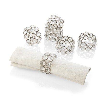 Bernardo Peçete Halkası / Napkin Ring #bernardo #tabledesign