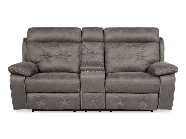 Endurance Emperor 2 Seater Static Sofa With Console Products In 2019 Stylish Chairs Fabric Sofa Sofa